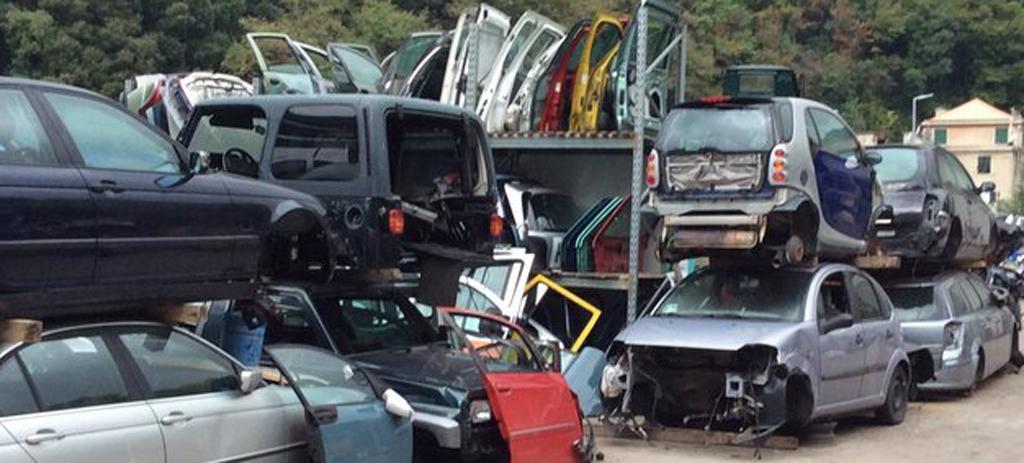 demolizione auto genova voltri